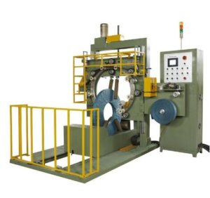 steel slitting coil wrapping machine