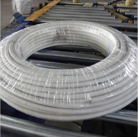 inline pipe coil stretch wrapper
