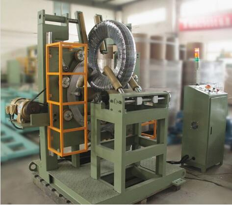 tire wrapping and packing machine