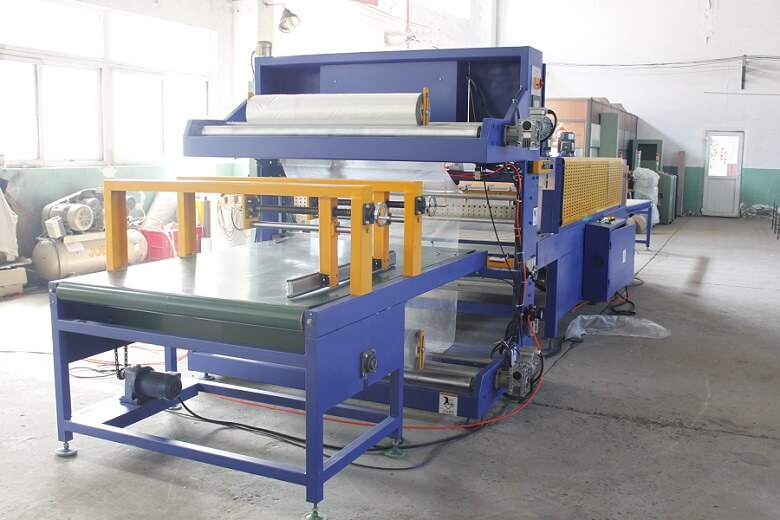 door panel shrink wrapping machine packing Board