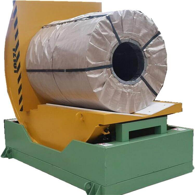 coil tilter and tipper machine