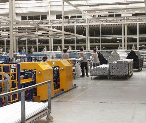 fully automatic plastic pipe bundle packing line
