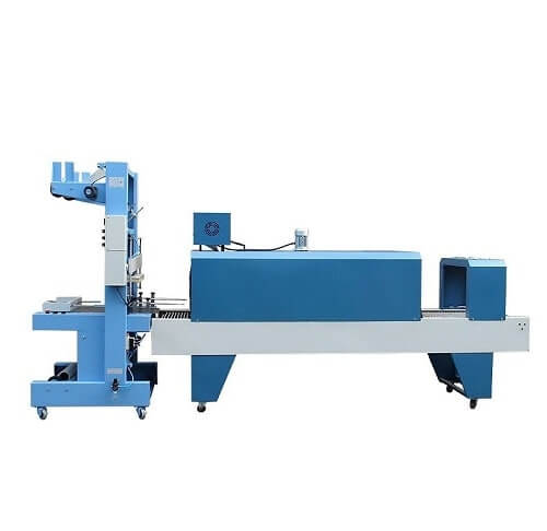 beverage tray sleeve shrink wrapping machine