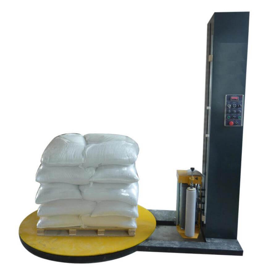 pallet packer, stretch film pallet wrap machine