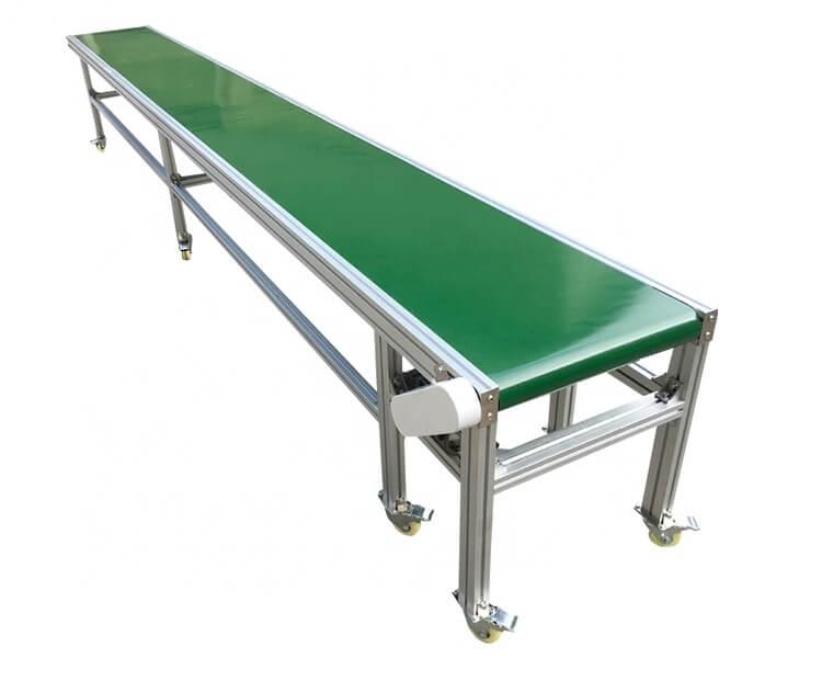 belt conveyor and roller conveyor