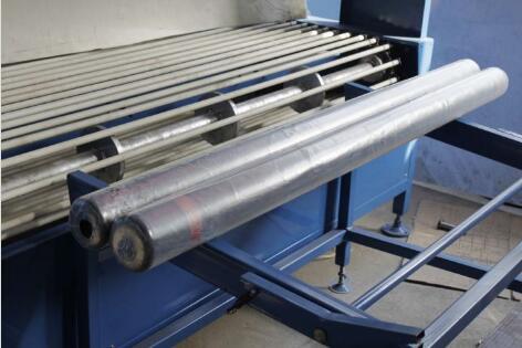 carpet roll shrink packaging machine